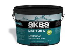 Мастика АКВА акриловая гидроизоляционная, 6кг